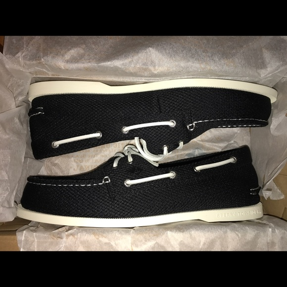 sperry mesh boat shoes